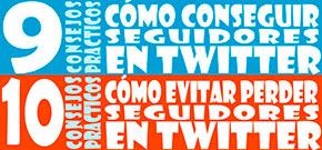 Noticias: Cómo conseguir seguidores en Twitter y cómo no perderlos (infografía)