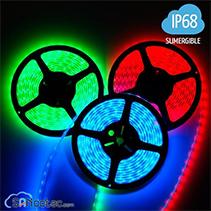 TIRA DE LEDS RGB IP68 150 LEDS SUMERGIBLE 5050 5 METROS