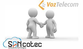 Noticias: SANcotec de la mano de VozTelecom